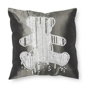Poszewka na poduszkę Teddy Gris, 40x40 cm