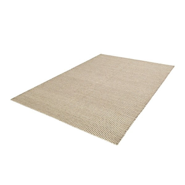 Ręcznie tkany kilim Grey Waves Kilim, 108x160cm