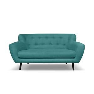 Ciemnozielona sofa 2-osobowa Cosmopolitan design Hampstead