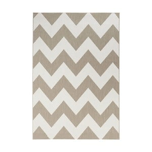Beżowo-biały dywan Unique, 120x170cm