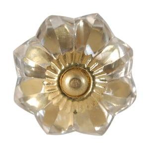 Szklana gałka do drzwiczek Antic Line Glass