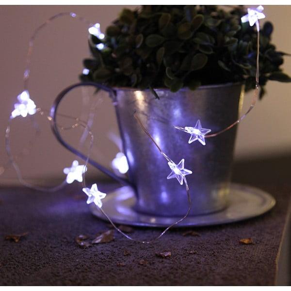 Świecący łańcuch LED Best Season Stars, 110 cm