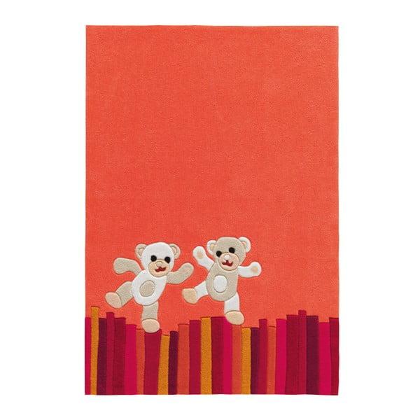 Ręcznie tkany dywan Joy Bears, 110x160 cm