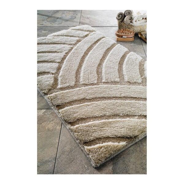 Dywanik łazienkowy Kanya Beige, 70x120 cm