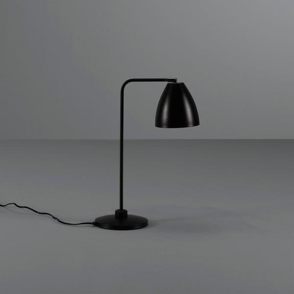 Czarna lampa stołowa Design Twist Cervasca
