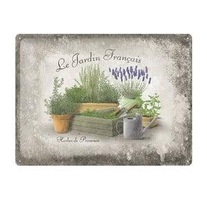Blaszana tablica Provence, 30x40 cm