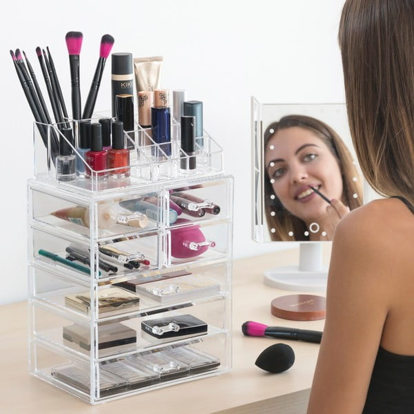 Przejrzysty organizer kosmetyczny InnovaGoods