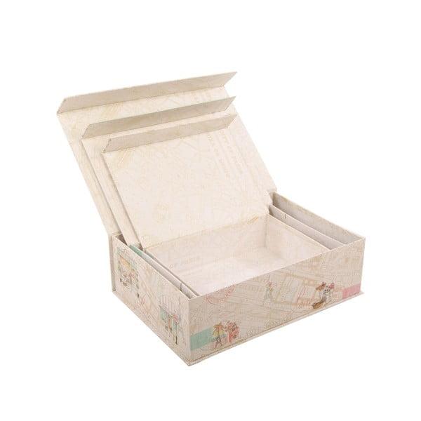Zestaw 3 pudełek Pattiserie