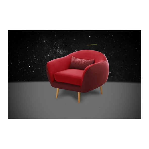 Fotel Meteore Red/Red