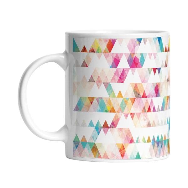 Ceramiczny kubek Triangle Life, 330 ml