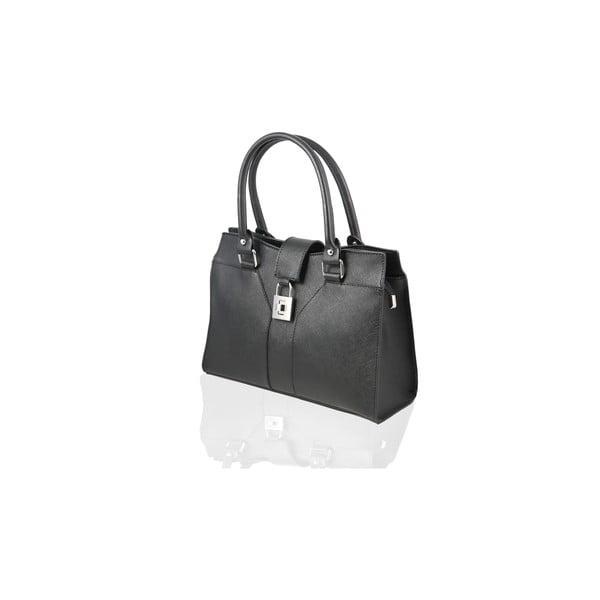 Skórzana torebka Marlene, black