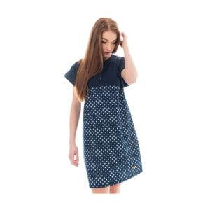 Niebieska sukienka bawełniana Lull Loungewear Tedejas, rozm.M