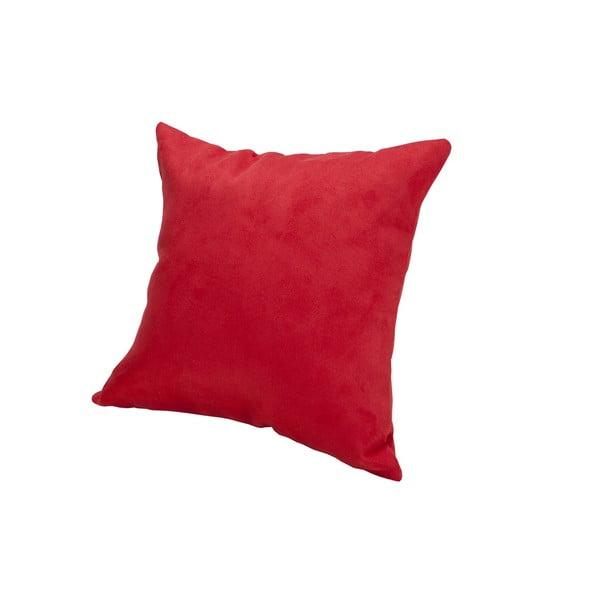 Poduszka z mikrowłókna Pillow 40x40 cm, truskawka