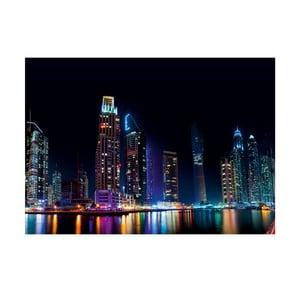 Obraz Tęczowa noc, 70x100 cm