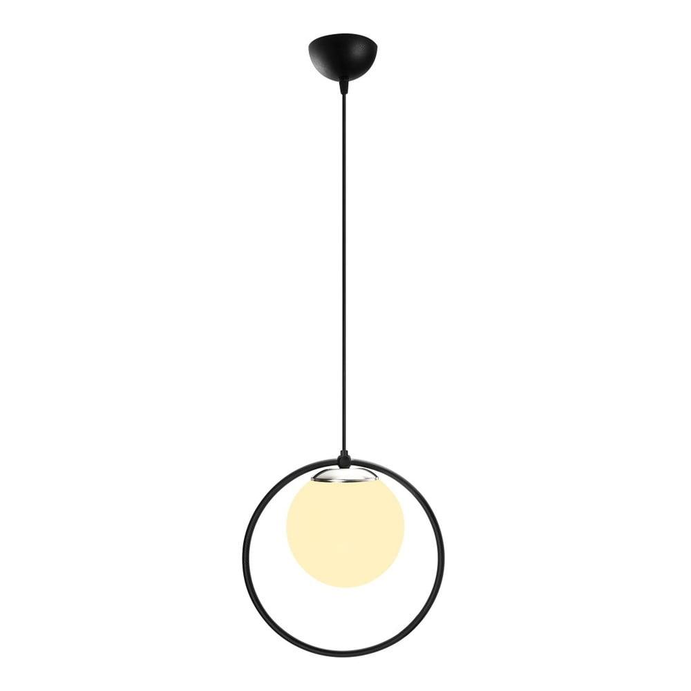 Czarna metalowa lampa wisząca Opviq lights Vivi