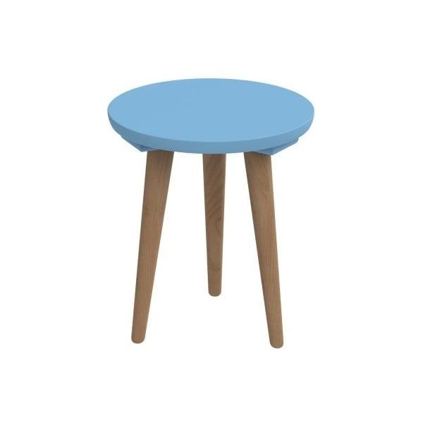 Stół D2 Bergen, 30 cm, niebieski