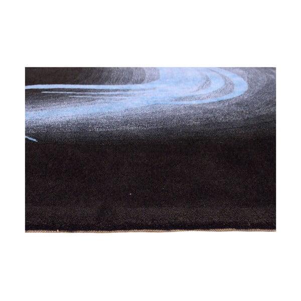 Dywan ręcznie tkany San Marino, 140x200 cm, niebieski