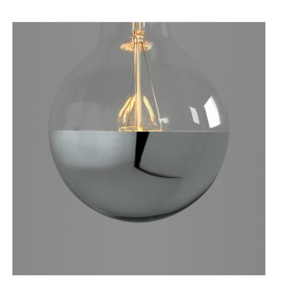 Żarówka Small Globe Led Silver Edison E28