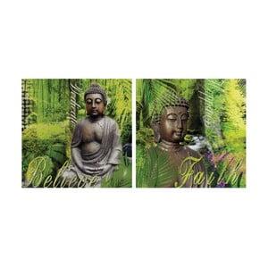 Zestaw 2 obrazów InArt Zen