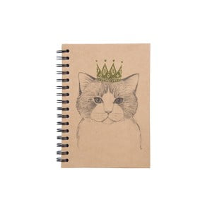 Notes na spirali Tri-Coastal Design Queen Cat