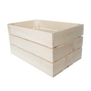 Skrzynka Caja Rustica Natural, 50x25x30 cm