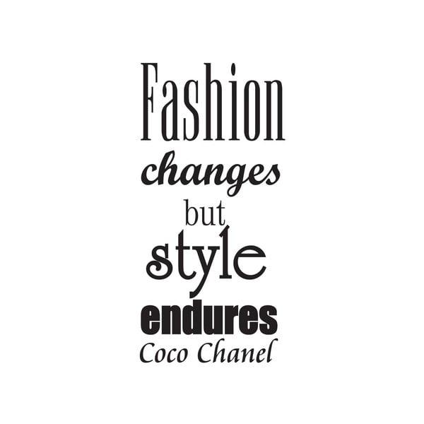 Naklejka dekoracyjna Fashion