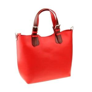 Czerwona torebka skórzana Florence Cembro