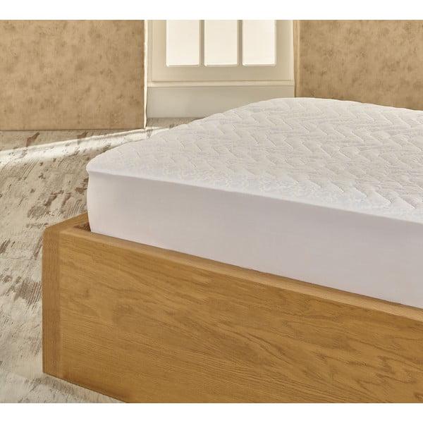 Ochraniacz na łóżko Double Grey Protector, 200x200 cm