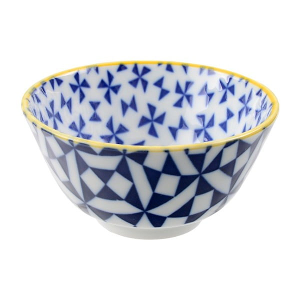 Porcelanowa miska Geo Rice Orient, 12x6,4 cm