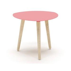 Różowy stolik MEME Design Nord Petalo