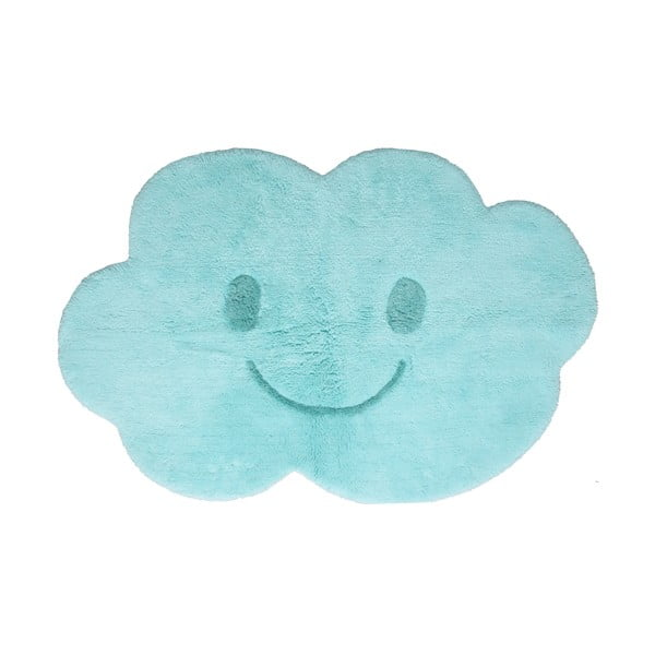 Niebieski dywan dziecięcy Nattiot Nimbus, 75x115 cm