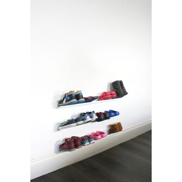 Biała półka na buty J-Me Kids, 70 cm