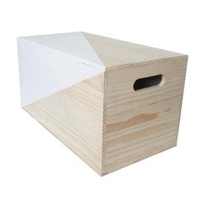 Pudełko Nordic Azul, 52x27x27 cm