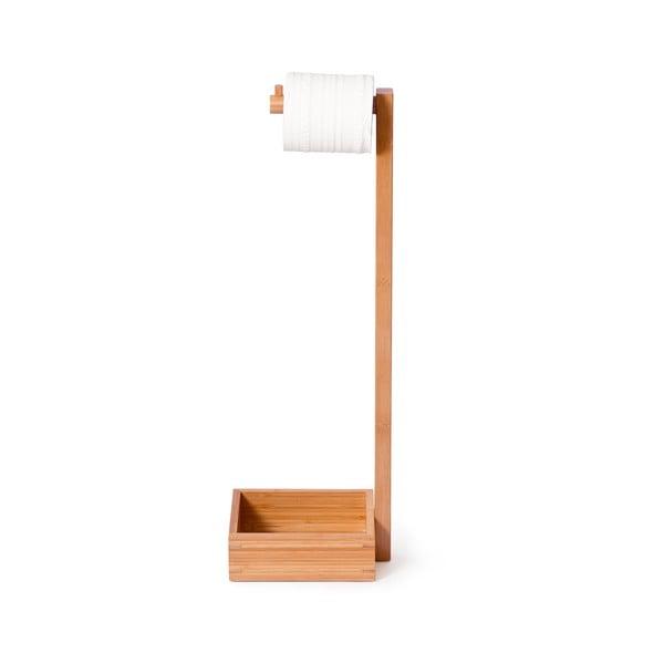 Stojak bambusowy na papier toaletowy Wireworks Arena Bamboo