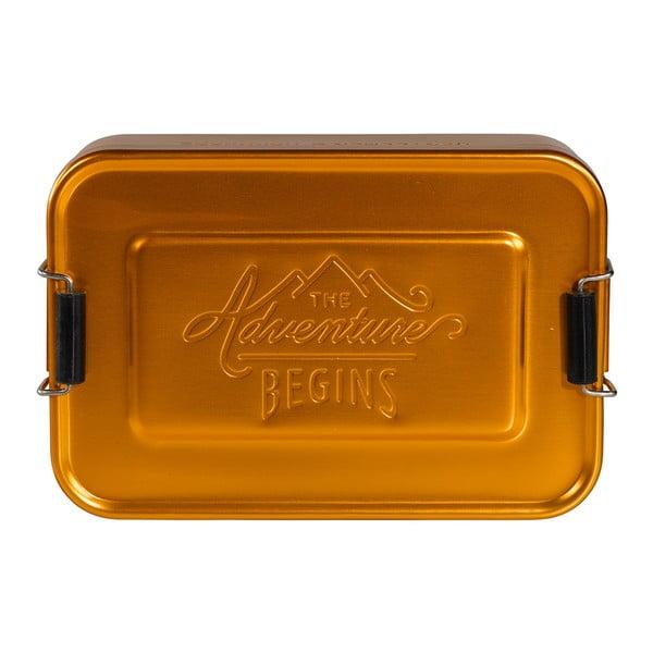 Śniadaniówka Gold Tin