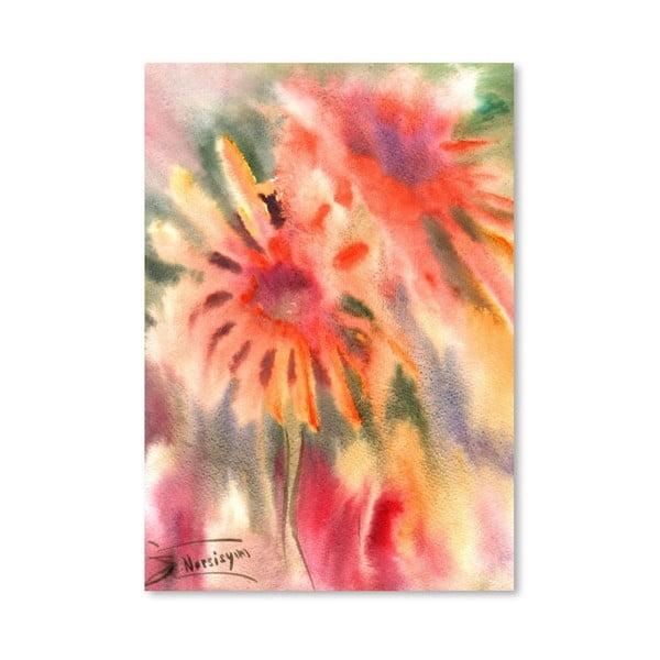 Plakat Abstract Flowers (projekt Suren Nersisyan)