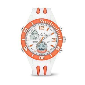 Zegarek Colori Anadigi 48 White Neon Orange