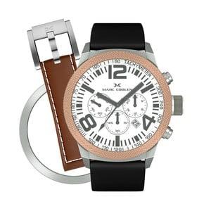 Zegarek damski Marc Coblen z dodatkowym paskiem i obręczą P70