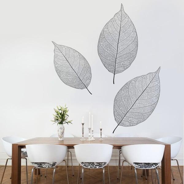 Naklejka na ścianę Trzy liście, 90x120 cm