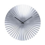 Zegar w kolorze srebra Karlsson Sensu, ⌀ 50 cm