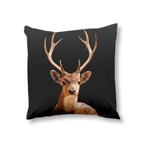 Poszewka na poduszkę Deer Anthracite, 50x50 cm