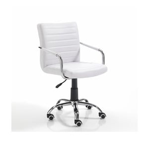 Białe krzesło biurowe Tomasucci Milko