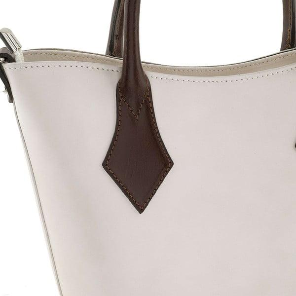 Skórzana torebka Teggie White