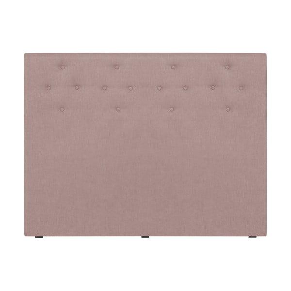 Pudroworóżowy zagłówek łóżka Windsor & Co Sofas Phobos, 140x120 cm
