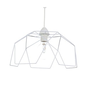 Biała lampa wisząca Creative Lightings Naked Light Quatro