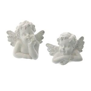 Zestaw 2 ozdób na świeczki Angel