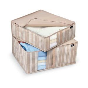 Zestaw 2 pudełek Domopak Stripes