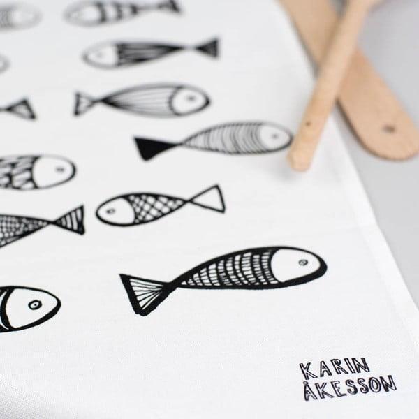 Ścierka kuchenna Fish, 48x78 cm