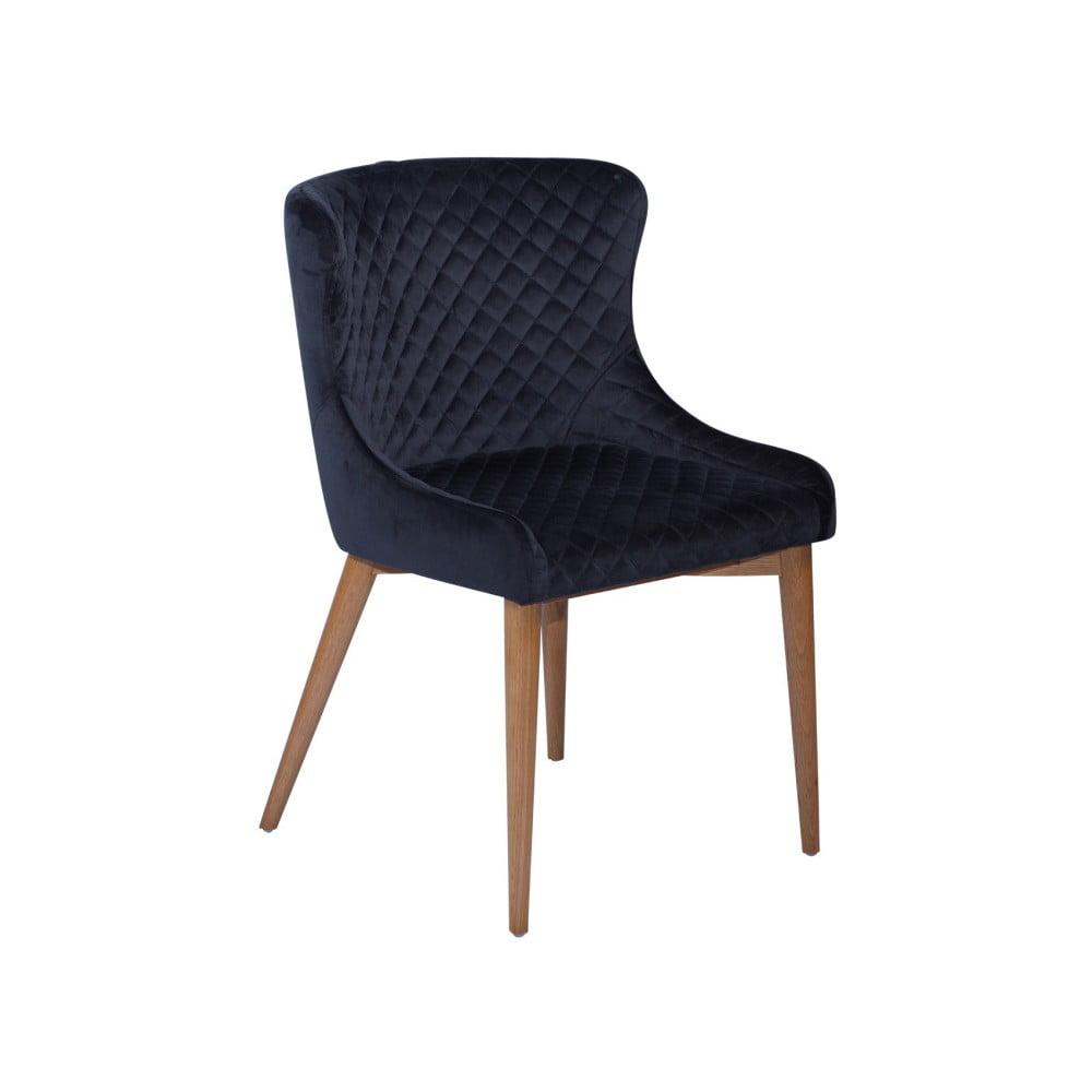 Granatowe krzesło DAN-FORM Denmark Vetro