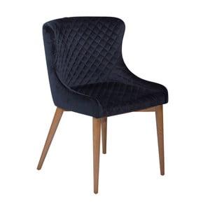 Tmavě modrá jídelní židle DAN-FORM Denmark Vetro